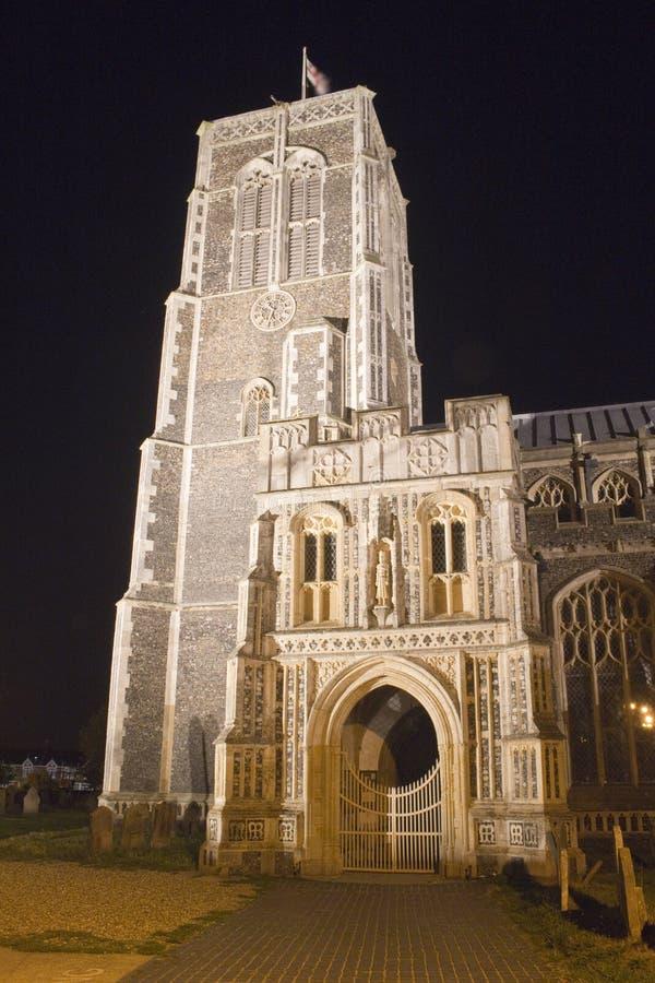 Kerk van St Edmund, Southwold, Suffolk, Engeland royalty-vrije stock afbeelding