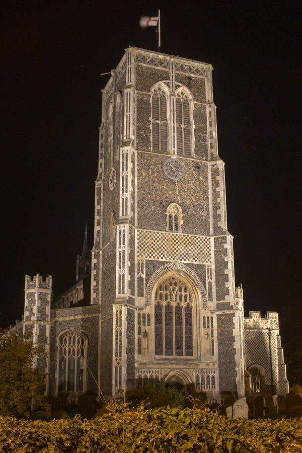 Kerk van St Edmund, Southwold, Suffolk, Engeland stock fotografie