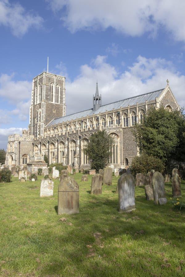 Kerk van St Edmund, Southwold, Suffolk, Engeland royalty-vrije stock foto