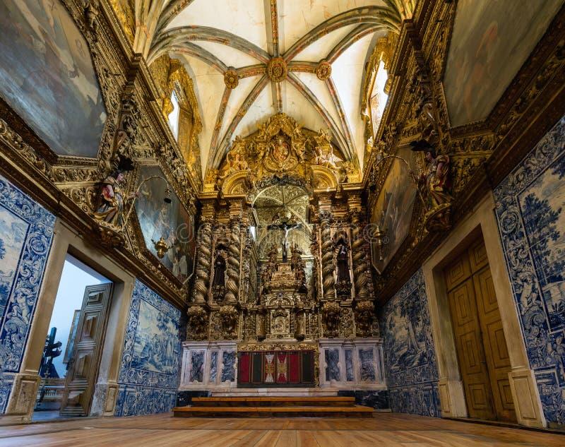 Kerk van St Francis in Evora, Portugal royalty-vrije stock foto's
