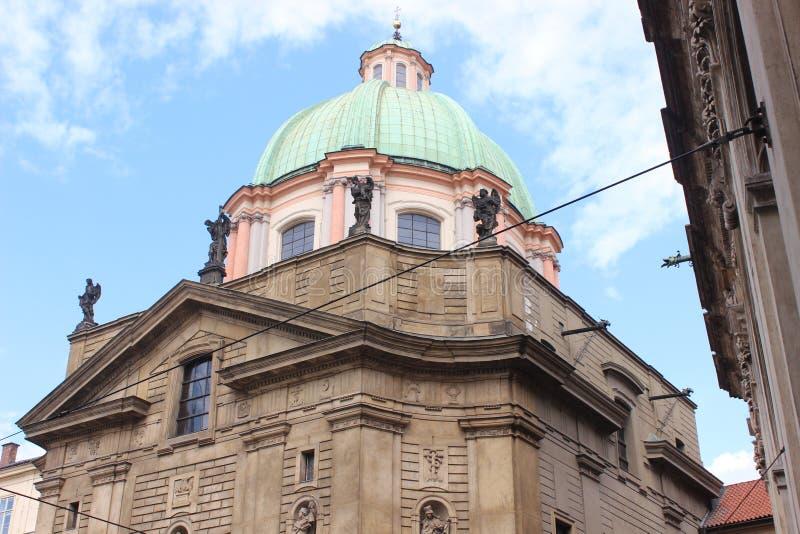 Kerk van St Francis van Assisi stock afbeeldingen