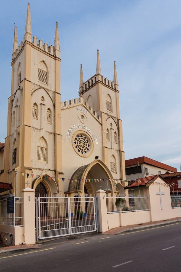 Kerk van St Francis Xavier royalty-vrije stock afbeelding