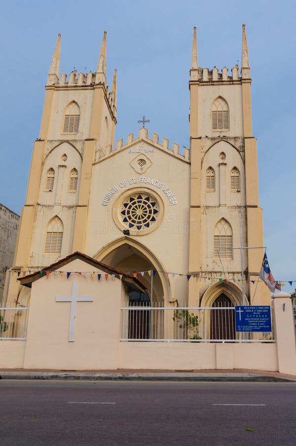 Kerk van St Francis Xavier stock fotografie