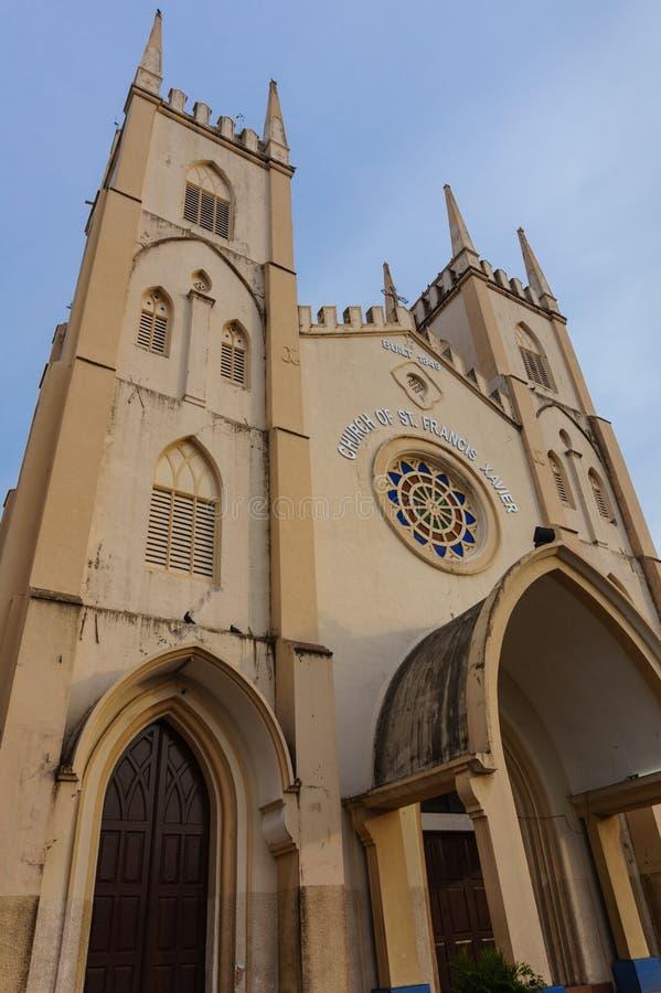 Kerk van St Francis Xavier royalty-vrije stock afbeeldingen