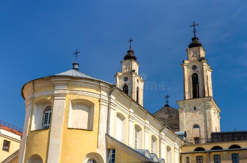 Kerk van St Francis Xavier in Kaunas stock fotografie