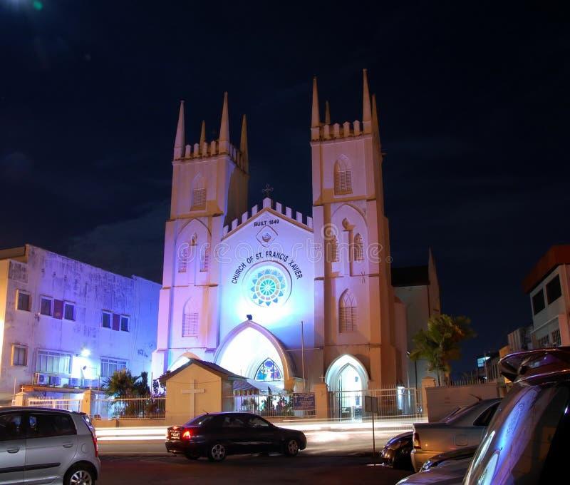Kerk van St Francis Xavier in Malacca royalty-vrije stock fotografie