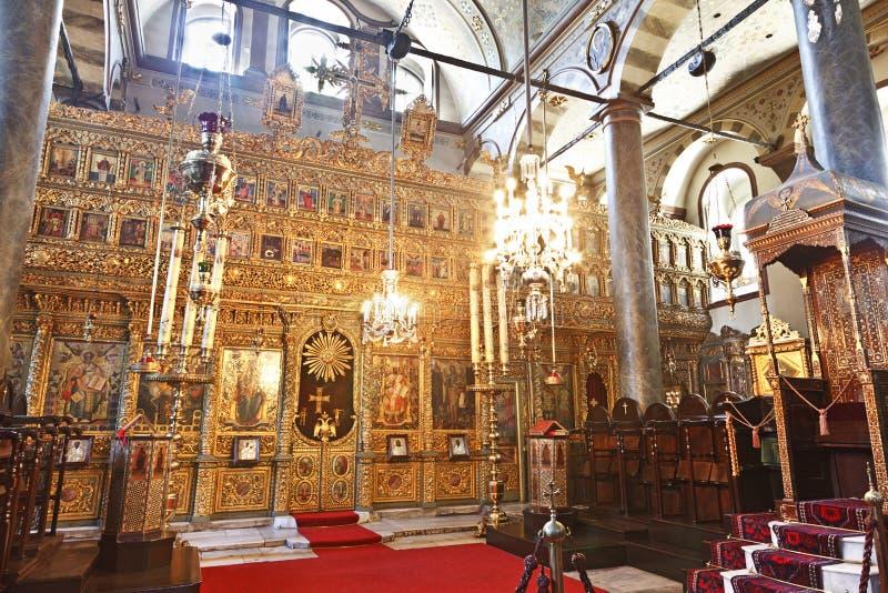 Kerk van St. George, Istanboel, Turkije stock afbeeldingen
