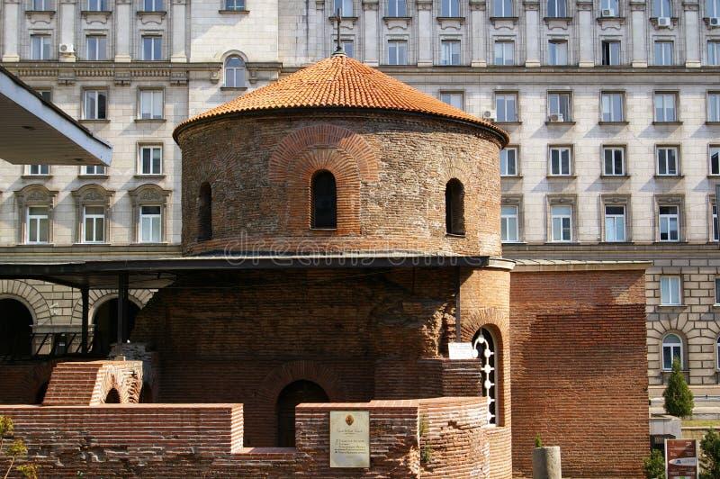 Kerk van St George, Sofia royalty-vrije stock afbeelding