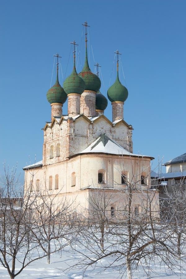 Kerk van St. Gregory de Theoloog royalty-vrije stock foto