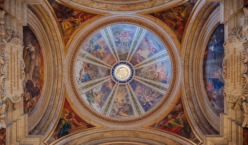Kerk van St Ignatius van Loyola 2 stock fotografie