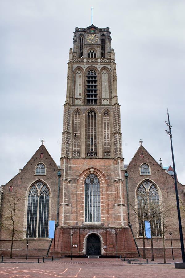 Kerk van St Lawrence in Rotterdam royalty-vrije stock foto's