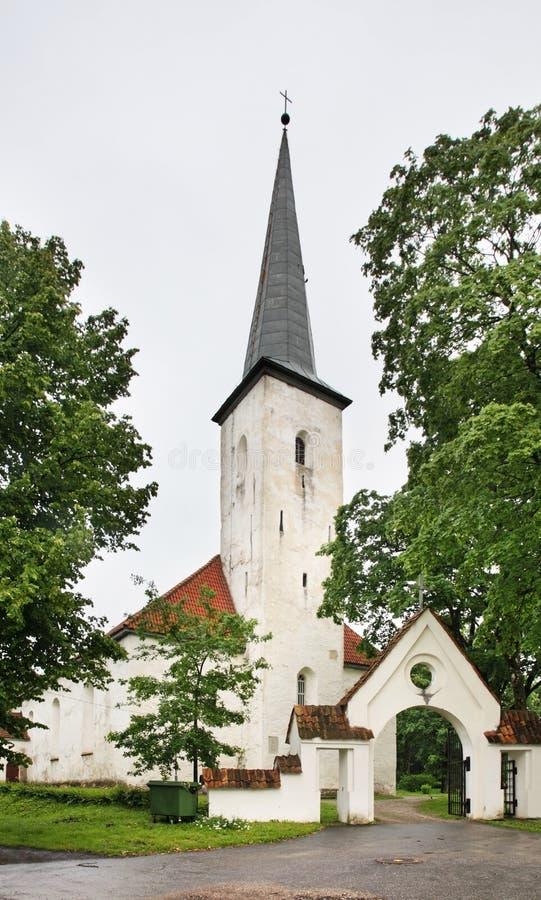 Kerk van St Michael in Johvi Estland royalty-vrije stock fotografie