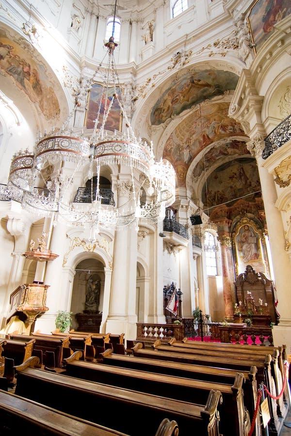Kerk van St. Nicholas stock foto's