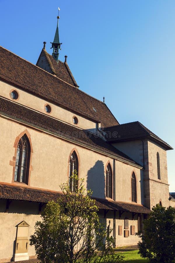 Kerk van St Theodorus II in Bazel royalty-vrije stock foto