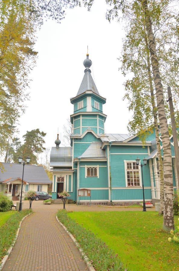 Kerk van St Vladimir gelijk-aan-de-Apostelen royalty-vrije stock fotografie