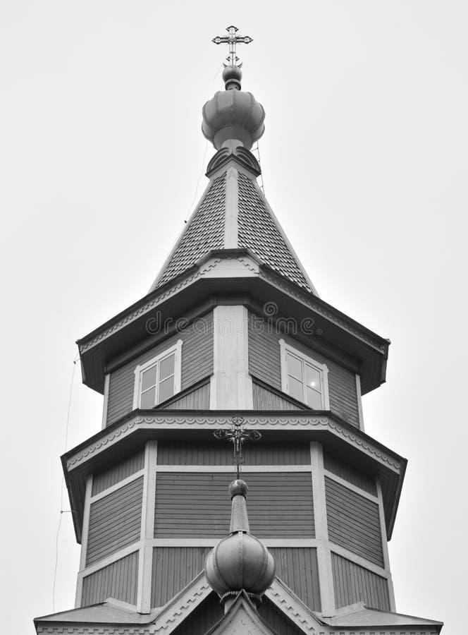 Kerk van St Vladimir gelijk-aan-de-Apostelen stock afbeelding