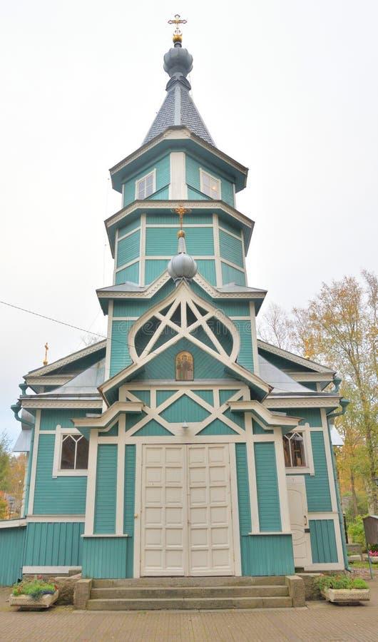 Kerk van St Vladimir gelijk-aan-de-Apostelen royalty-vrije stock foto's
