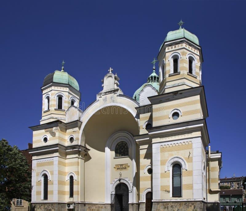 Kerk van Sts Cyril en Methodius in Sofia bulgarije royalty-vrije stock afbeelding