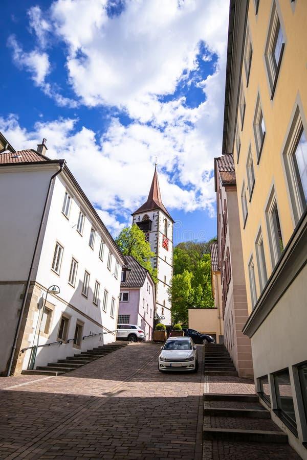 kerk van Sulz Duitsland royalty-vrije stock fotografie