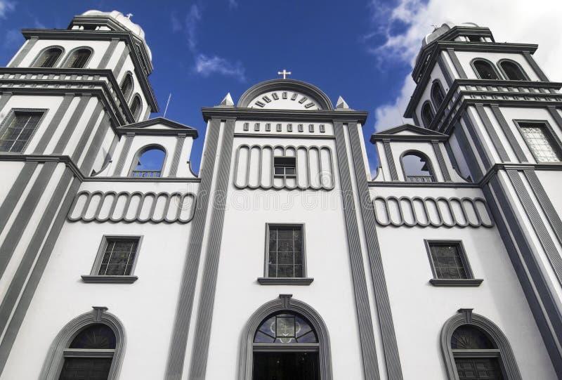 Kerk van Suyapa, Honduras royalty-vrije stock fotografie