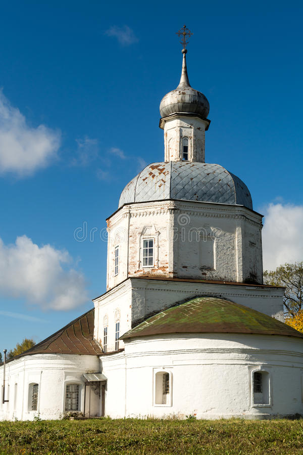 Kerk van Transfiguratie in Alexandrov stock fotografie