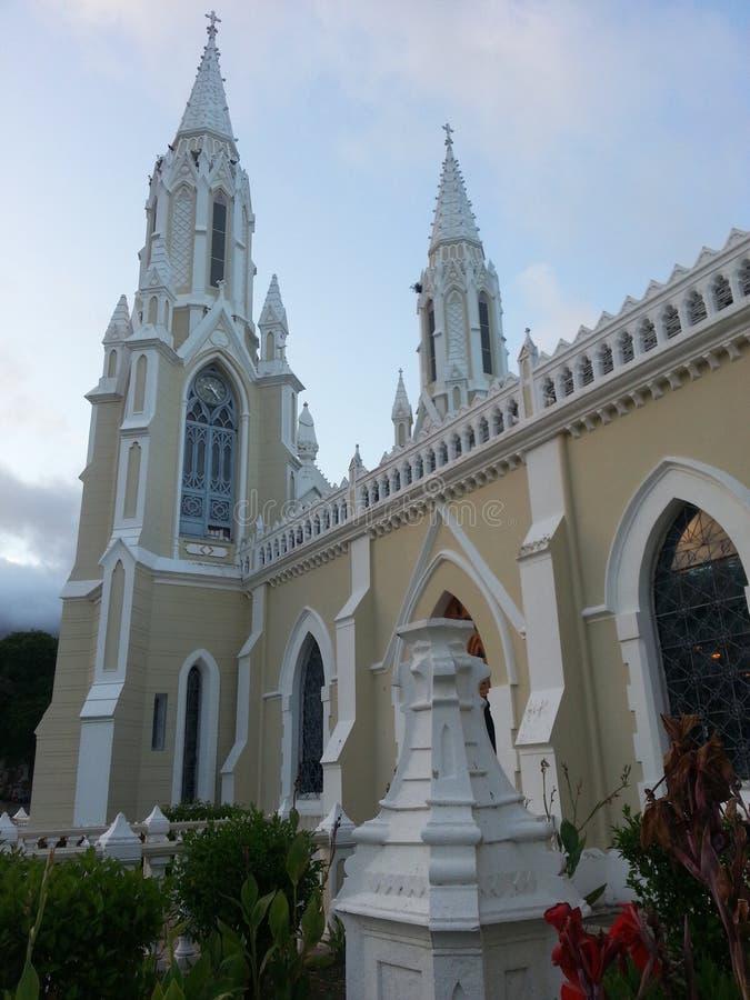 Kerk van Valley& x27; s Virgin royalty-vrije stock foto