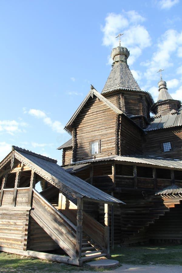 Kerk in Velikiy Novgorod stock afbeeldingen