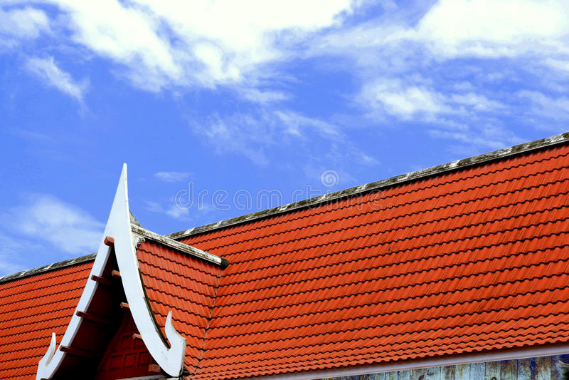 Kerk in wat ThaLuang Thailand royalty-vrije stock foto