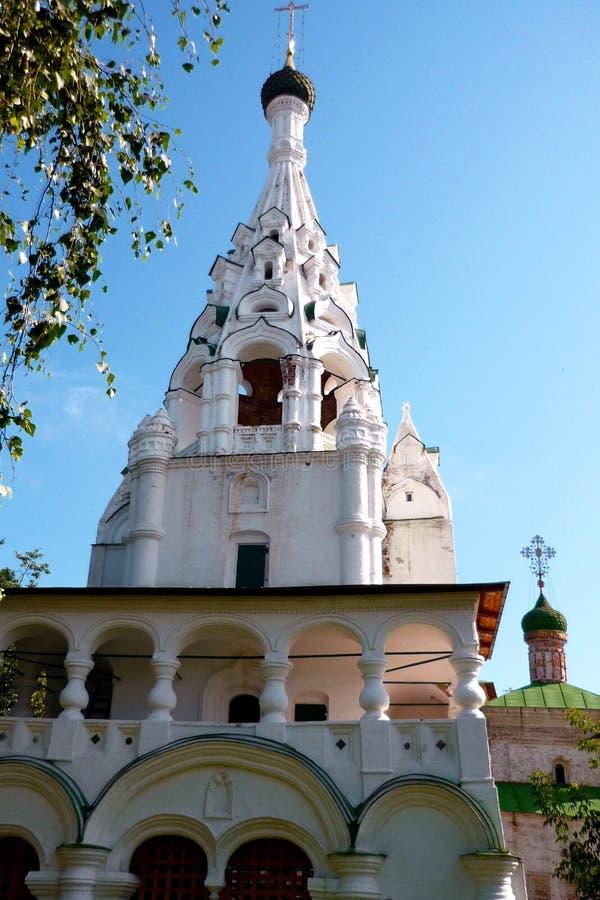 Kerk in Yaroslavl royalty-vrije stock fotografie
