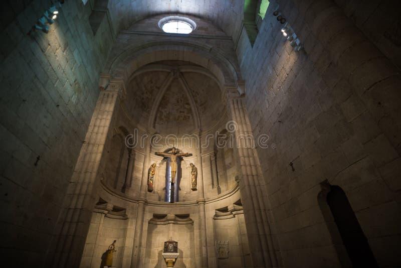 kerk Zamora stock afbeeldingen