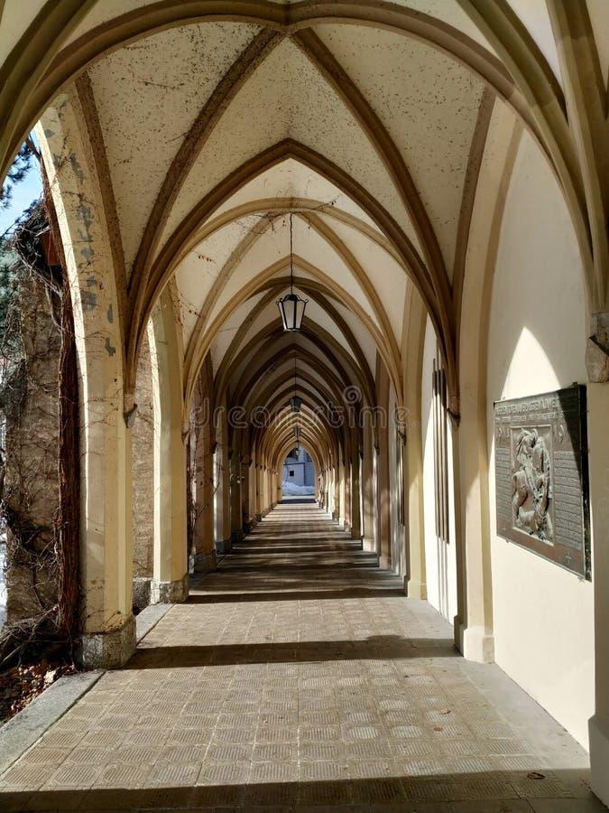 Kerkbogen stock foto's