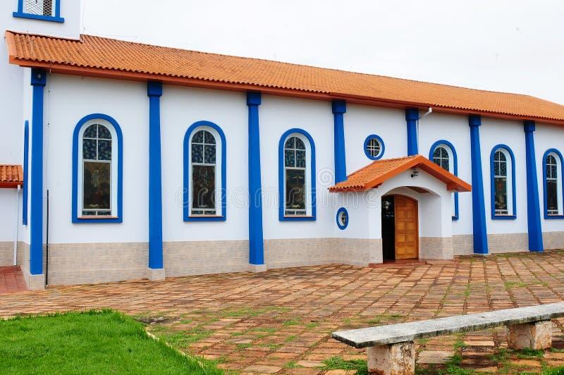 Kerken binnen Brazilië royalty-vrije stock fotografie