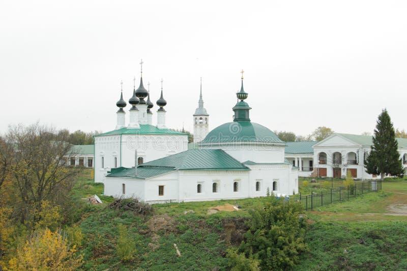 Kerken van Suzdal stock foto