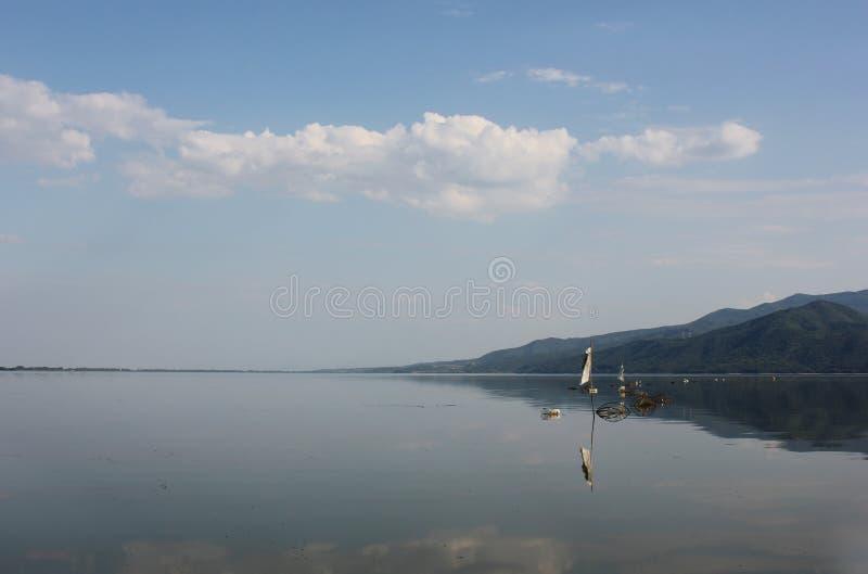 Kerkini塞雷希腊湖  库存图片