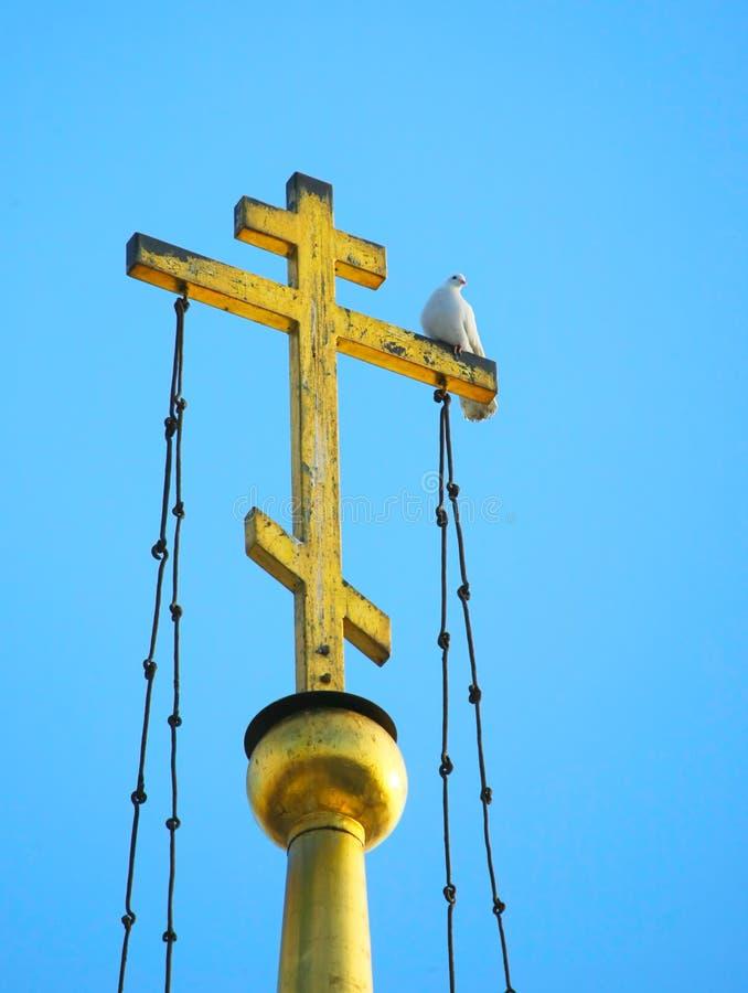 Kerkkruis stock fotografie