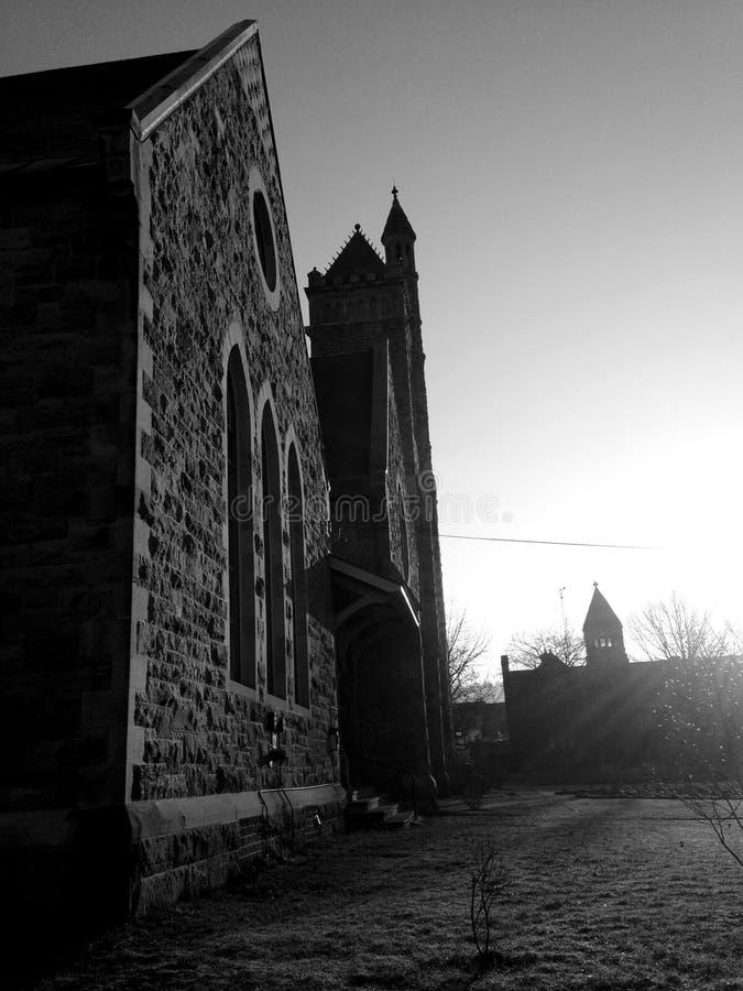 Kerklicht royalty-vrije stock afbeeldingen