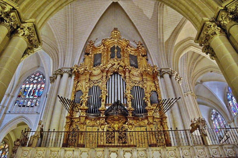 Kerkorgaan stock afbeeldingen