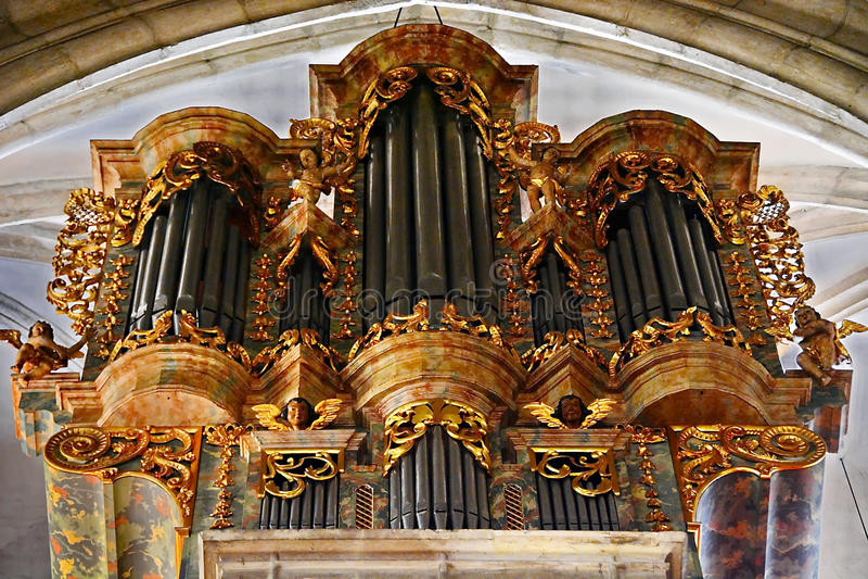 Kerkorgaan royalty-vrije stock afbeeldingen