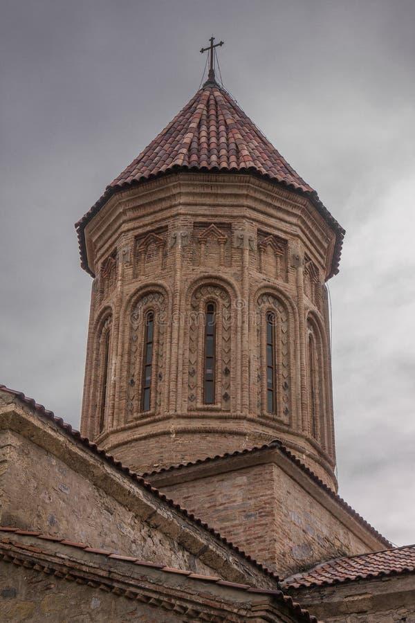 Kerktoren in telaviklooster royalty-vrije stock foto