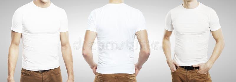 Kerl drei im T-Shirt lizenzfreies stockfoto