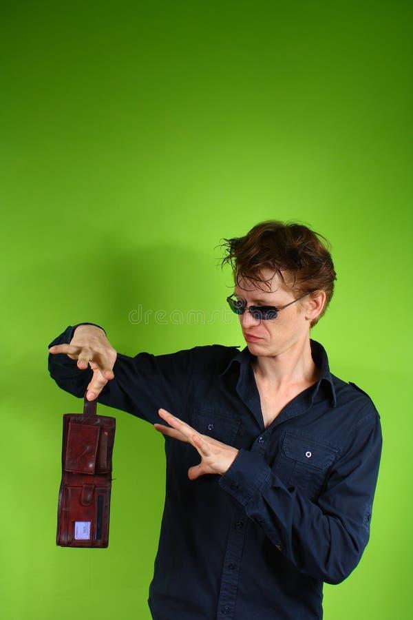 Kerl mit Geld stockbilder