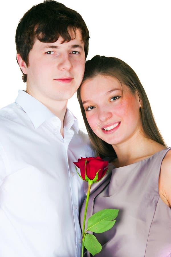 Kerl und Mädchen lizenzfreie stockfotos