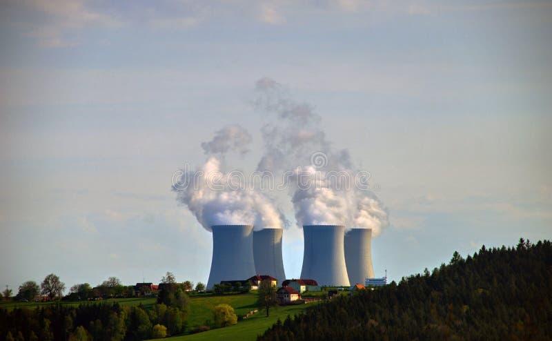 Kernenergieinstallatie #1 royalty-vrije stock fotografie