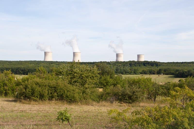Kern Elektrische centrale royalty-vrije stock fotografie