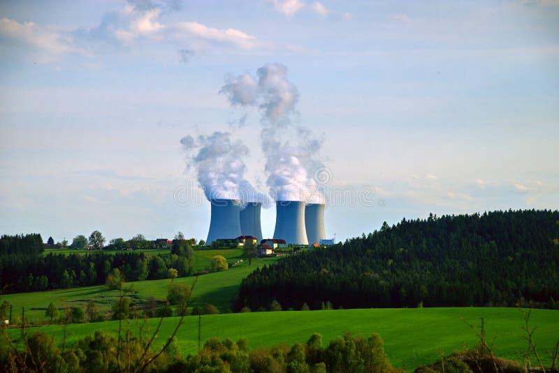 Kernenergieinstallatie #8 royalty-vrije stock afbeelding