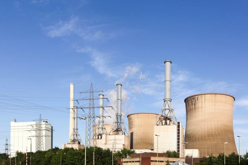 Kern Elektrische centrale in Duitsland stock foto's