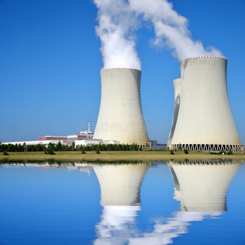 Kern elektrische centrale Temelin stock afbeelding