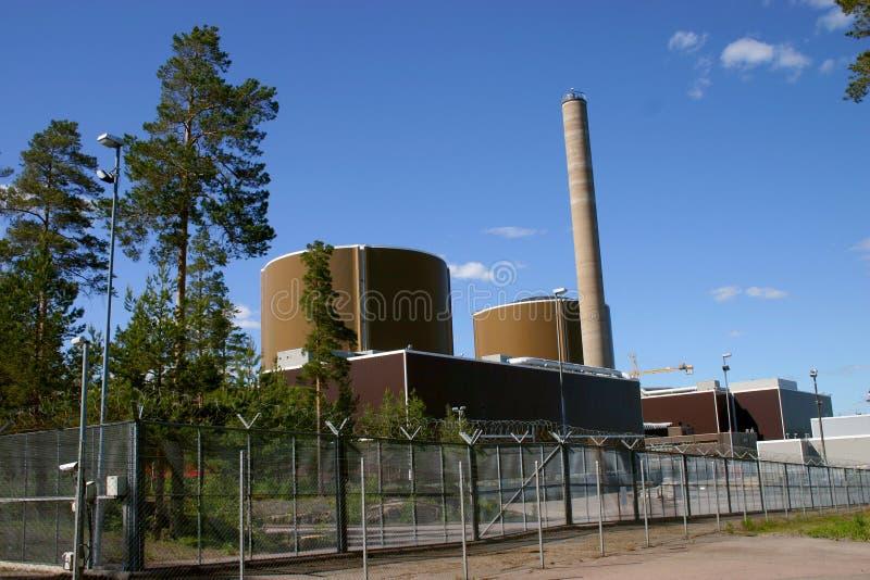 Kern elektrische centrales royalty-vrije stock foto