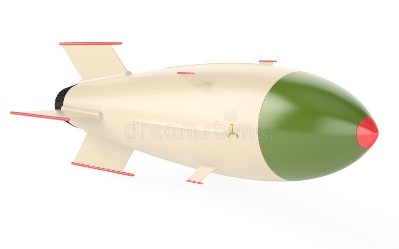Kern raket vector illustratie