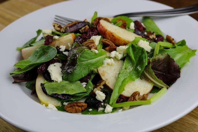 Kernachtig Autumn Salad royalty-vrije stock fotografie